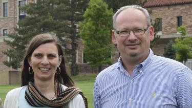 Juliet Gopinath and Victor Bright