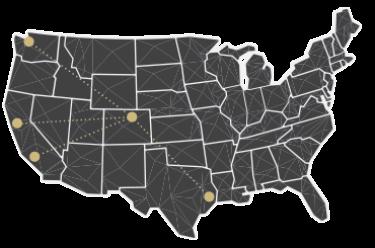 Alumni Network map