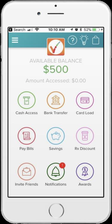PayActiv app screen