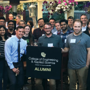 CU Engineering Alumni group photo
