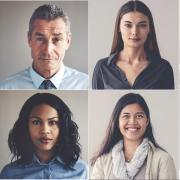 adobe stock image of people grid