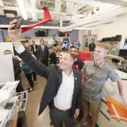 Nasa Administrator Jim Bridenstine visits new aerospace building at CU Boulder