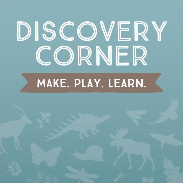 Discovery Corner: Make, Play, Learn.