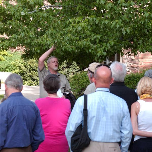 Adults on Campus Tree Walk