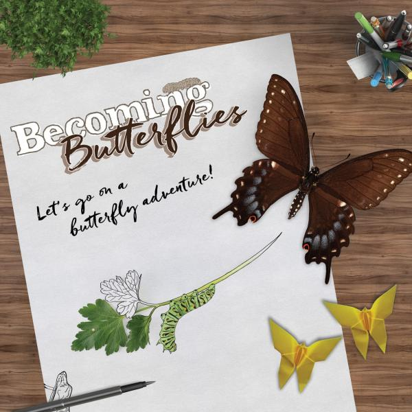 Becoming Butterflies ad