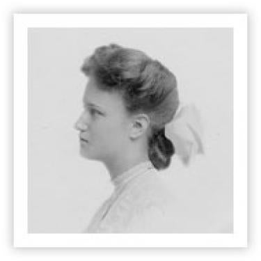 Young Ida Pemberton, date unknown