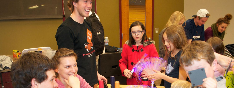 CU Teach students share electricity unit