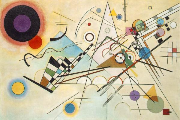 Kandinsky painting graphic