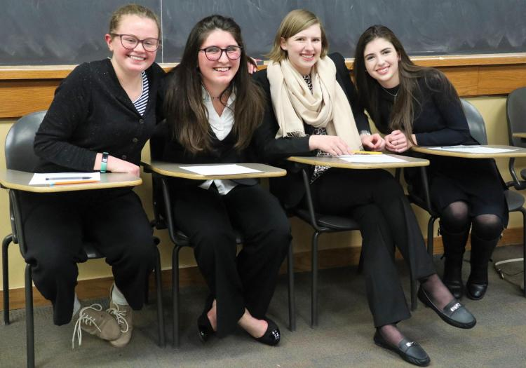Colorado Academy Ethics Bowl team