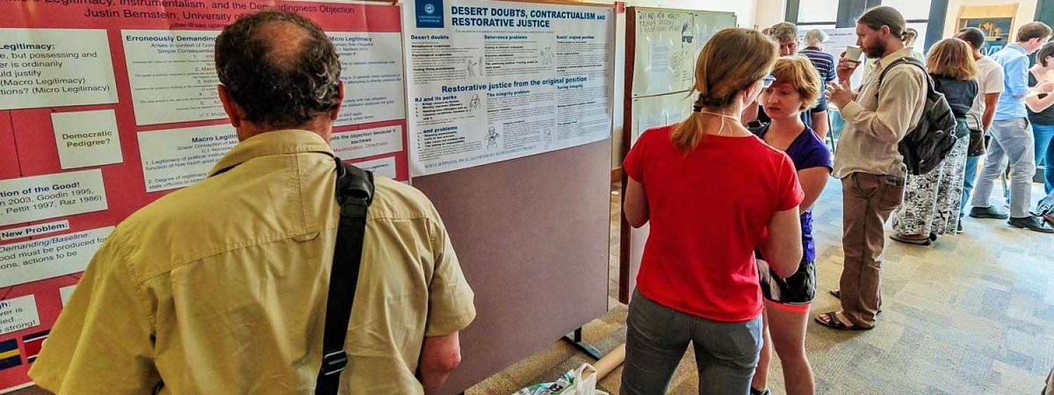 Poster Session at RoME IX