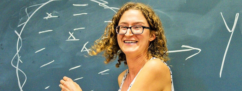 Julia Nefsky (Toronto) giving a talk at RoME IV