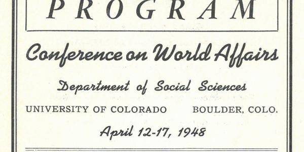 First CWA Program