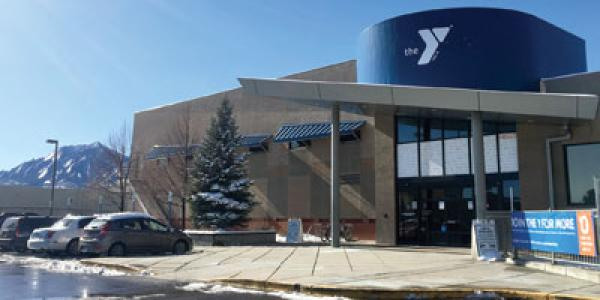 Outside of YMCA