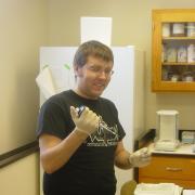 Jacob and test tubes