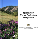 Flipbook cover for the virtual graduation