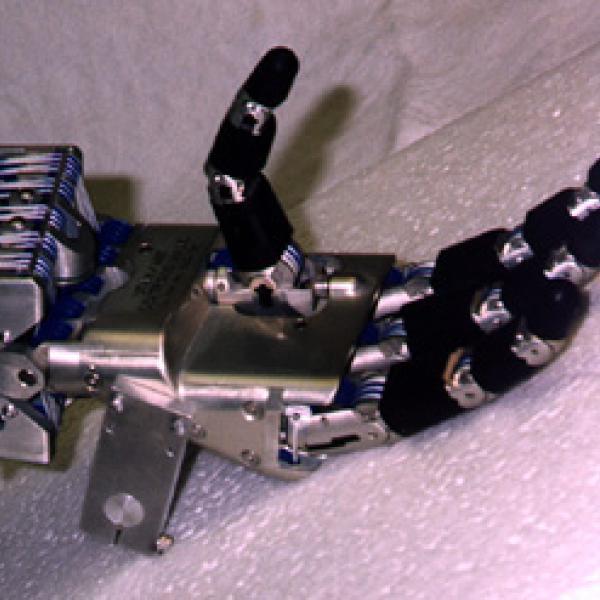 A mechanical hand