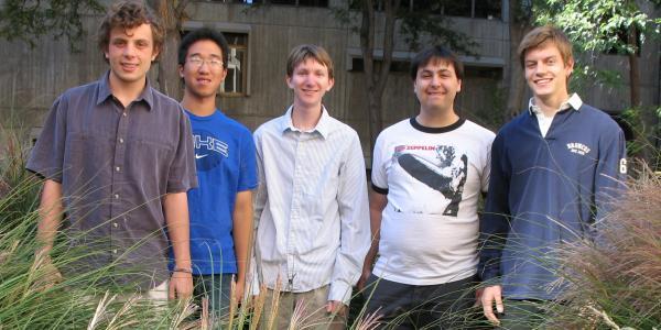 The five members of team Electric Zen