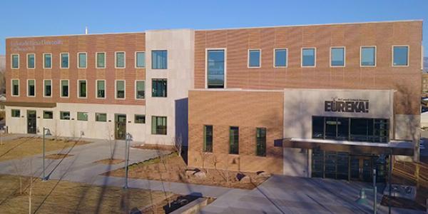 The engineering building at Colorado Mesa University