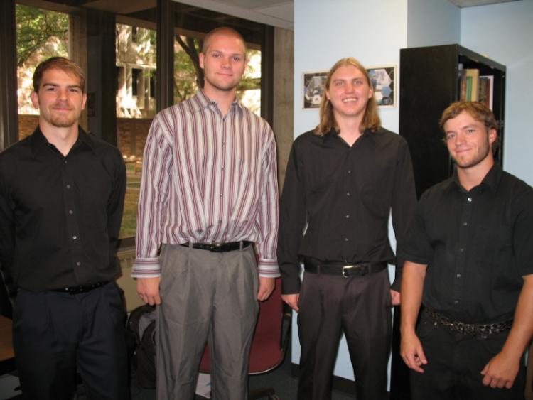 The four members of HandyMan