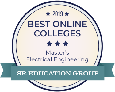 2019 Best Online Master's badge