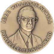 The Newell award medal