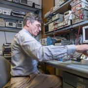 Al Gasiewski working in his lab.