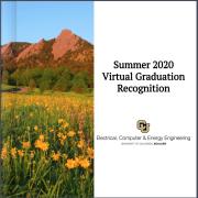Flipbook cover for summer 2020 graduates