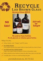 Brown Glass Recycling Rules and Guidelines