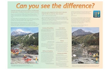 Can You see the Difference Poster