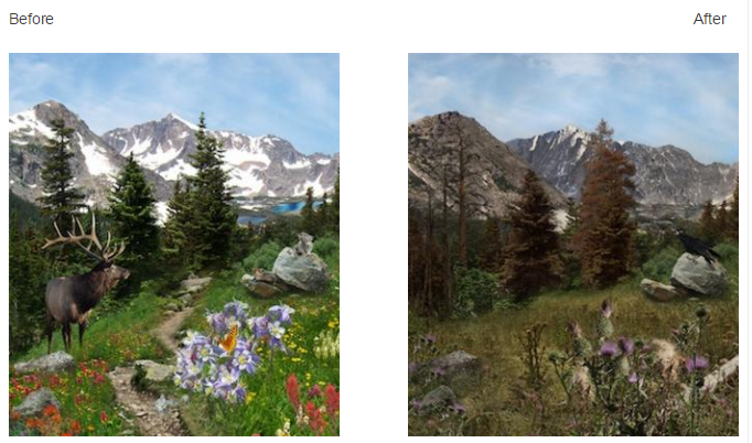 Colorado Before and After climate change impacts