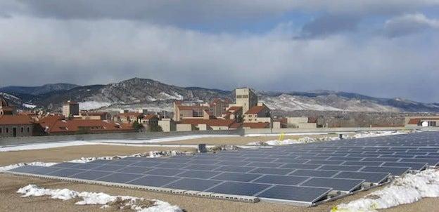 Coors Stadium Solar Panels