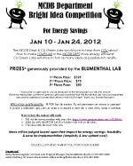 Bright Ideas Contest