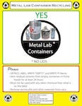 Metal Lab Container Recycling