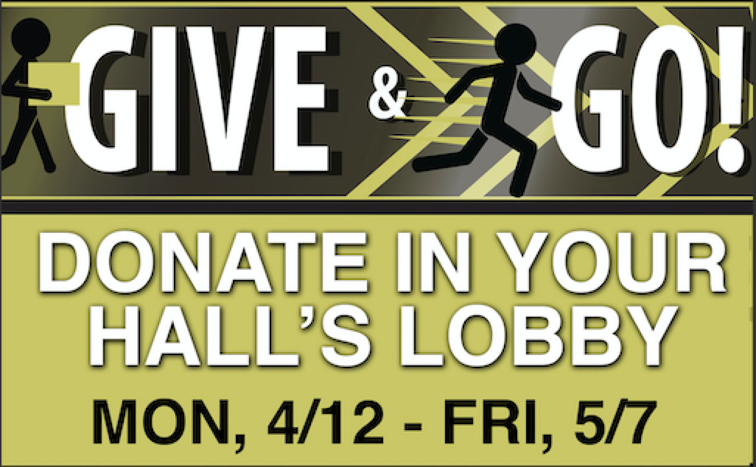 Give and Go Donation Drive