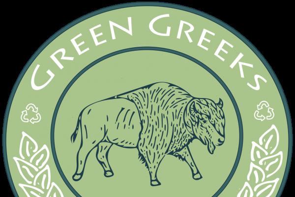Green Greeks logo