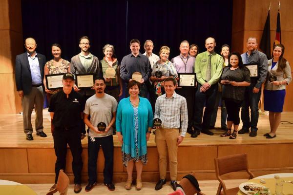 2017 campus sustainability award winners
