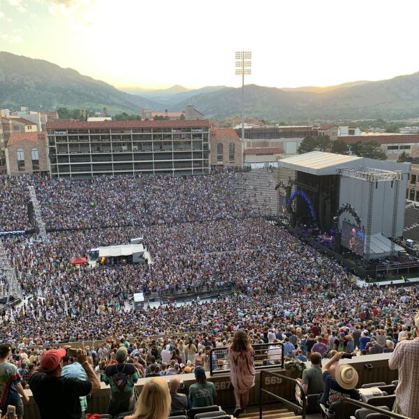 Dead and Company concert at Folsom Field