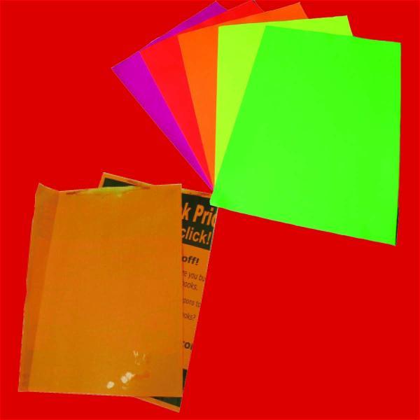Neon & Goldenrod Paper