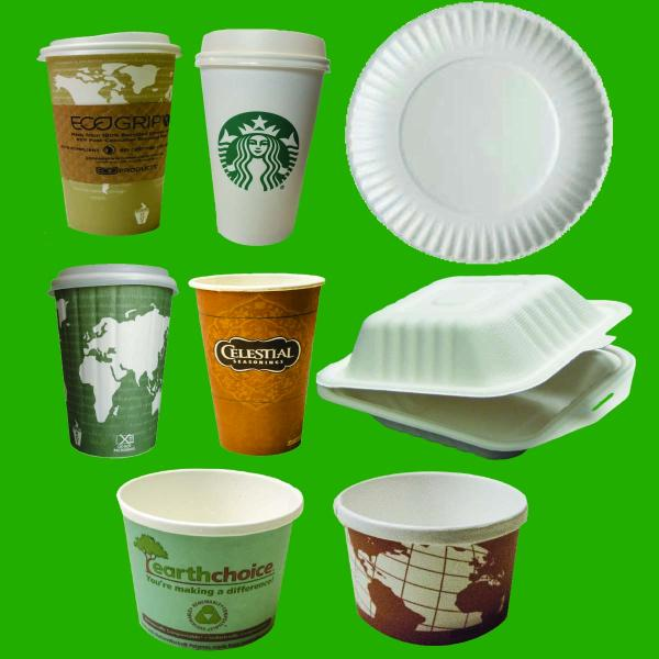 paper and cups
