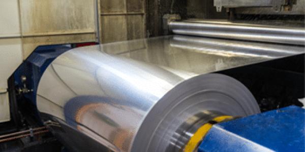 Aluminum production roll
