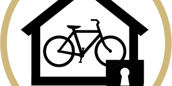 secure bike shelter logo