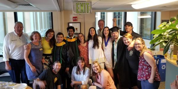Environmental Center graduates