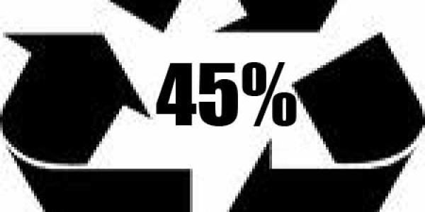 45% Diversion Rate