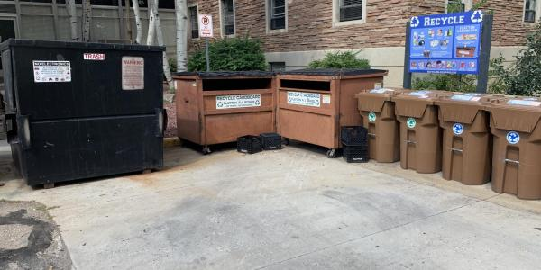 on campus housing recycling