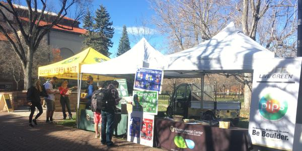 America Recycles Day on Hellems Lawn