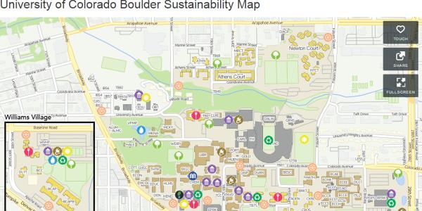 UCB Sustainability Map