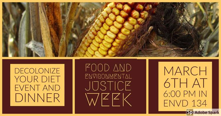 Picture of corn and details about the events