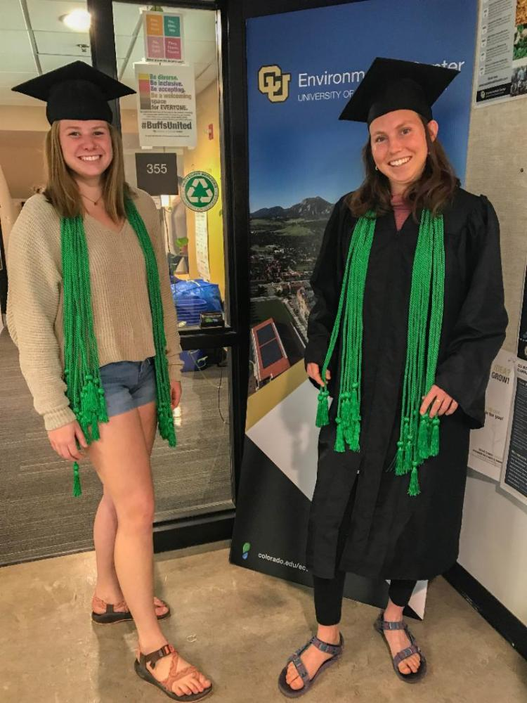 students model green cords