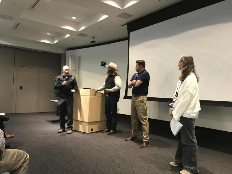 VCIS David Kang addresses I2SL attendees