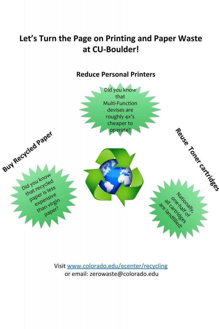 Paper Reduction Graphic